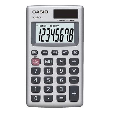 Casio Cep Tipi Hesap Makinesi Hane Sayısı Renkli